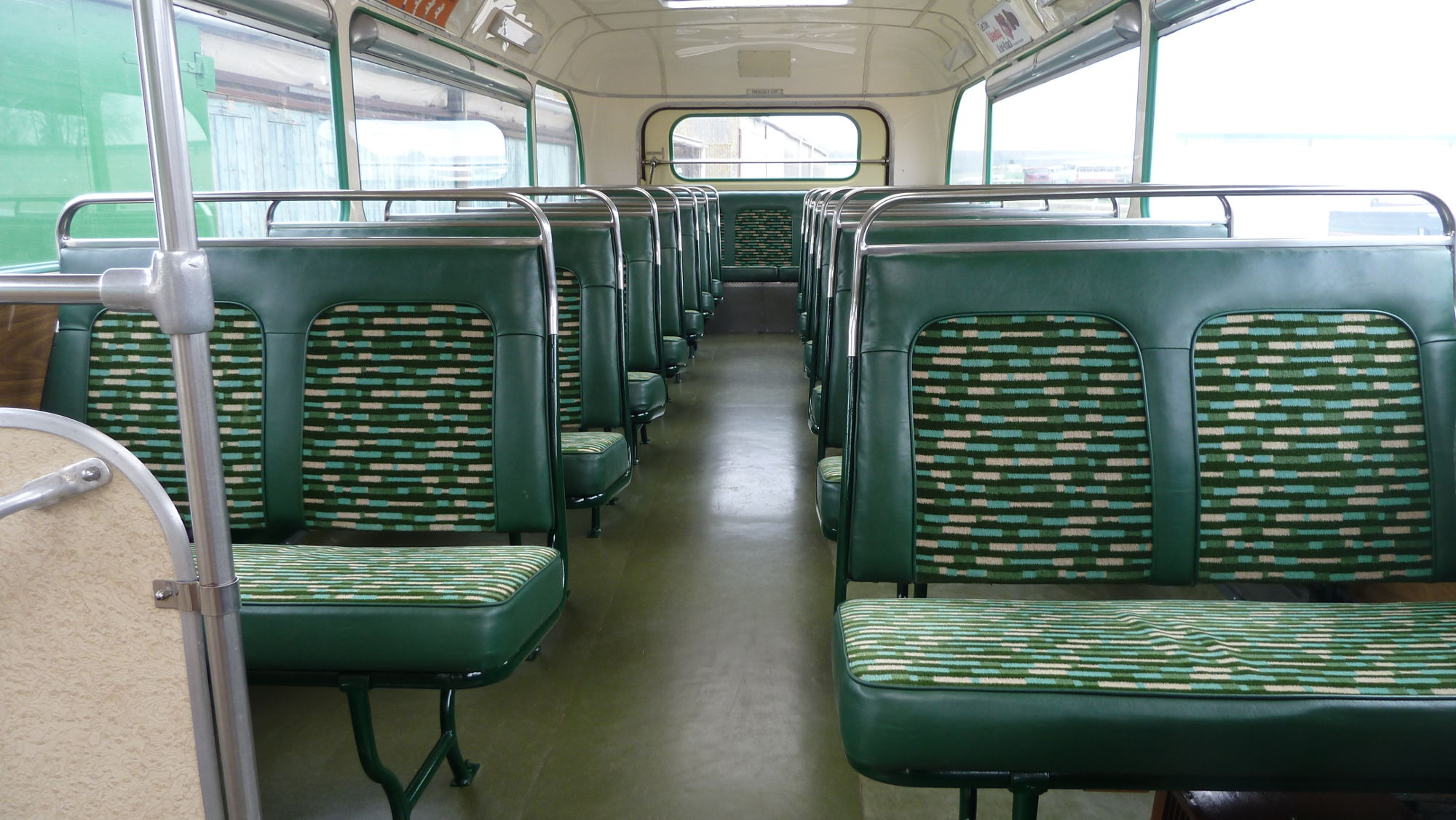 Double-deck interior